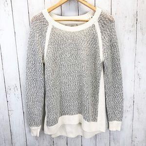 LOFT Mohair Wool Blend Knit Sweater Sz M ::D14
